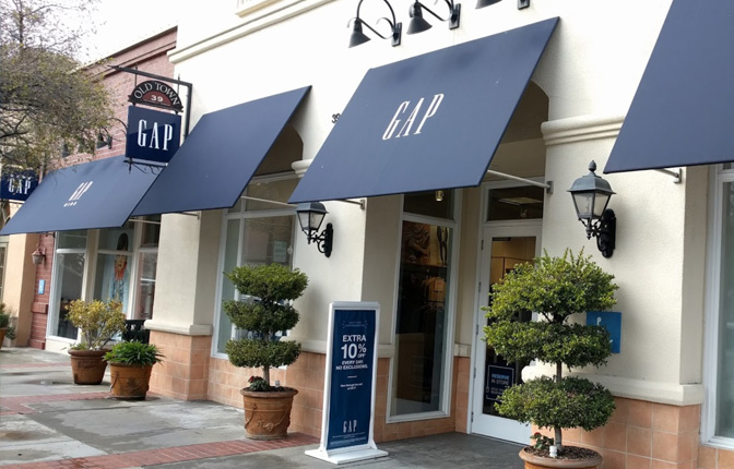 Gap Clothing and Accessories for Women Men Children in Los Gatos