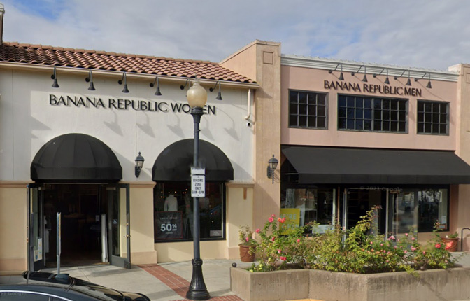 Banana Republic in Los Gatos men's and women's clothing and shoes