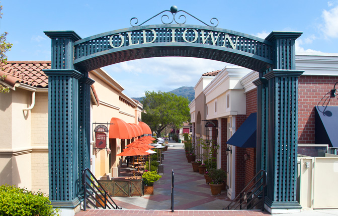 Shop, Dine and more at Old Town Los Gatos